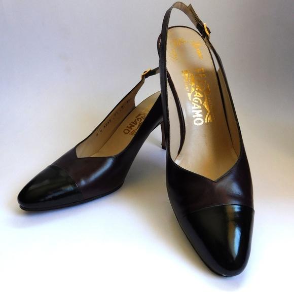 c803771020cd0 50's Vintage Slingback Ferragamo Women's Shoes